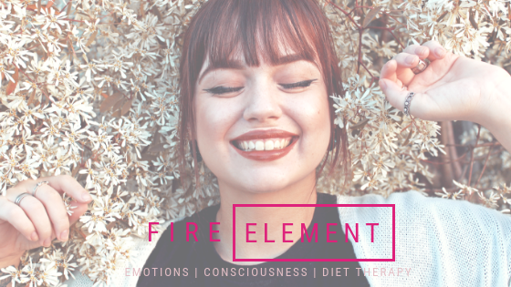 Balance within the Fire Element [five element theory] for a Healthy Emotional State